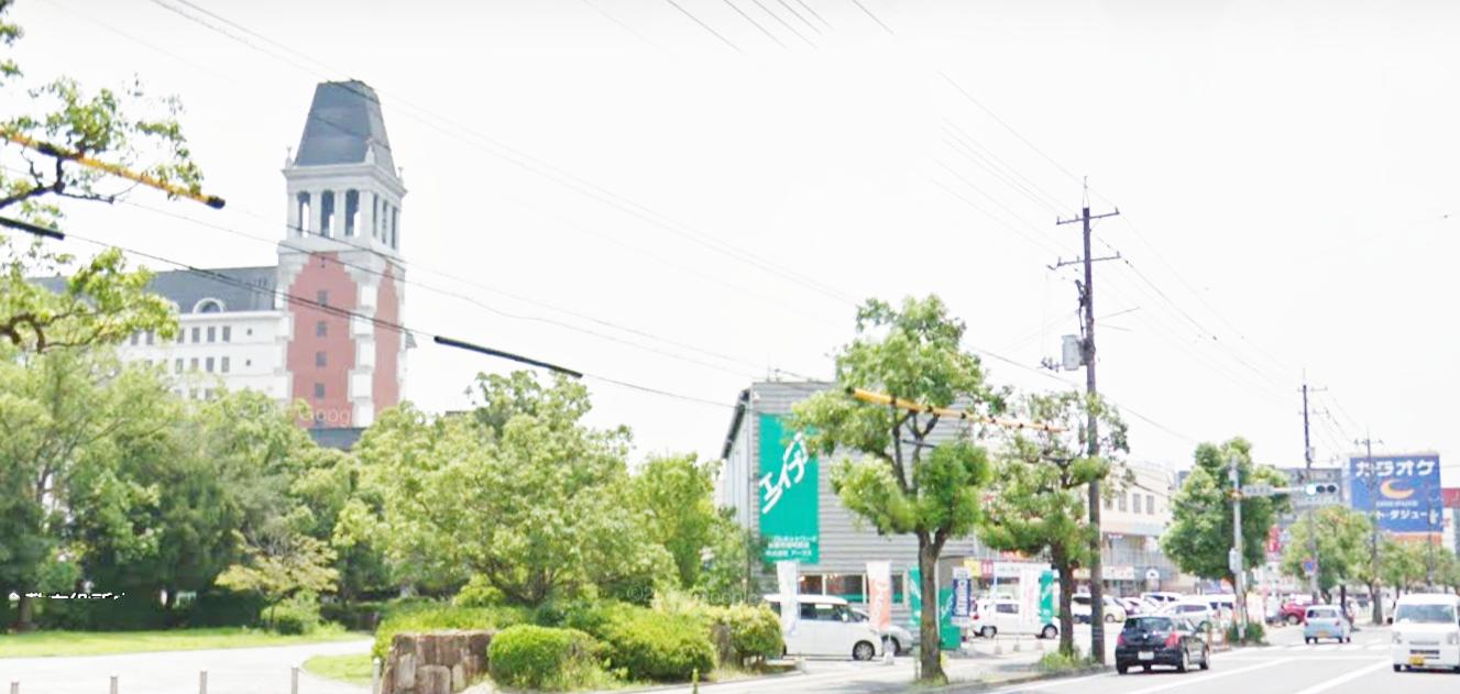 倉敷駅前通りを倉敷市役所に向かって水島方面に進みます。