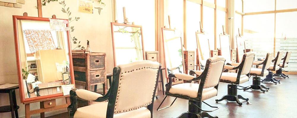 倉敷市の美容院(美容室)イングスヘアー 店舗イメージその5